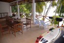 Coke's guesthouse in Thulusdhoo Maldives