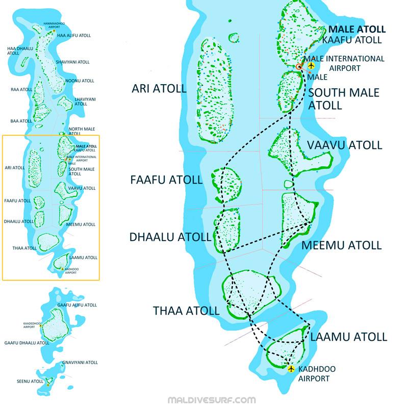 Index Of Imagessurftripsmaldivesmaps - Maldives map