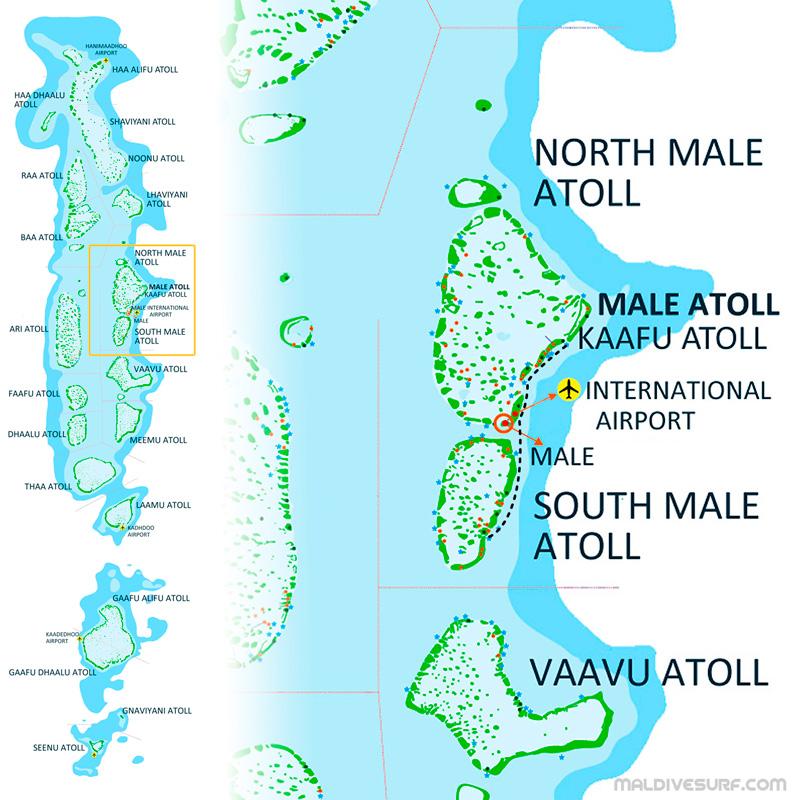 Surf guest-houses and camps in the Maldives on lily beach maldives map, conrad maldives map, maldives resorts map, baros maldives map, park hyatt maldives map, reethi maldives map, kanuhura maldives map, kuredu maldives map, kandooma maldives map, velassaru maldives map, maldives island map, gili lankanfushi maldives map, lux maldives map,